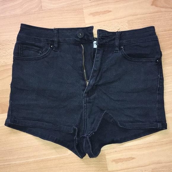 5c74525e42 Bullhead Shorts | Faded Black High Waisted | Poshmark
